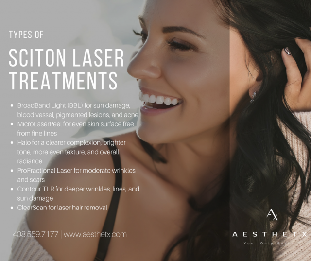 Sciton laser treatments san jose ca